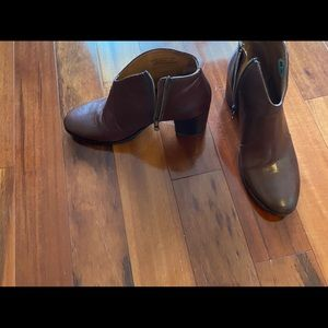 Frye Shoes - Frye brown leather booties